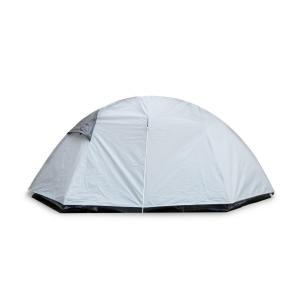 Cennte Trekking Tent 1-2 People 155x115x265 cm Polyester 2000 mm Grey
