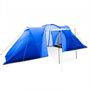Ollico Tunnel Tent 6 People 560x200x230 cm Polyester 2000 mm Blue Blue