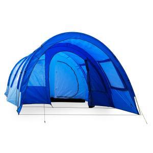 Mozori Tenda Tunnel 4 Persone 305x205x475 cm Poliestere 5000 mm Blu blu