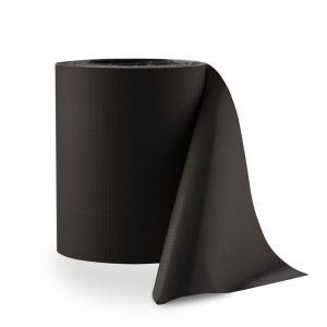 Pureview Sichtschutz PVC 35m x 19cm 30 Klemmschienen dunkelgrau