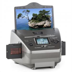 979GY Combo Slide Film And Photo Scanner 14MP SD USB Silver