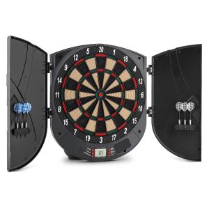 Dartor Electronic Dartboard Soft Tip 26 Games Doors Sound