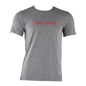 T-shirt Sportiva Da Uomo Taglia S Grigio Melange grigio | S