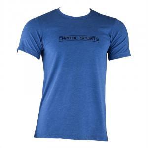 T-Shirt Desporto Homem Tamanho XL Azul Cobalto Azul | XL
