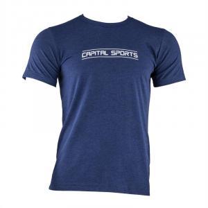 Tränings-T-shirt för män storlek S navy Mörkblå | S