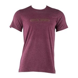 Trainings T-shirt voor mannen maat S bordeaux rood Lila | S