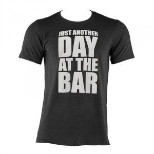 Tränings-T-shirt för män storlek XL svart Svart | XL