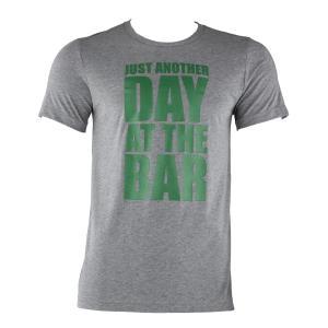 Tränings-T-shirt för män storlek L grå melerad Grå | L