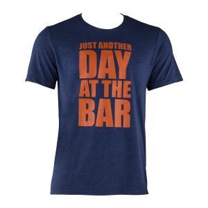 Tränings-T-shirt för män storlek XL navy Mörkblå | XL
