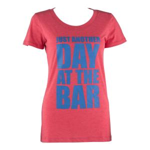 T-Shirt Desporto Mulher Tamanho XL Vermelho Vermelho | XL