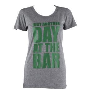 T-shirt treningowy damski rozmiar XL szary melanż Szary | XL