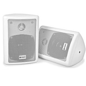 2-drożna kolumna stereo Para 75 W maks. z materiałem montażowym biała