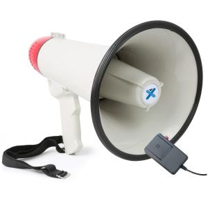 MEG040 Megaphone with Microphone Recording Function and Siren Mode 40 W