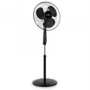 Black Blizzard RC 2G Floorstanding Fan 50W 41 cm Round Base Black