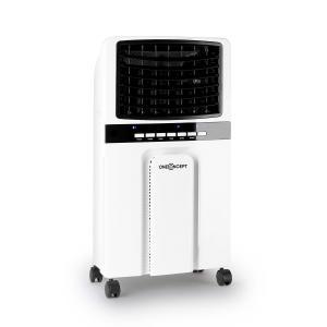 Baltic Blue 3-in-1 Luftkühler Ventilator Luftbefeuchter 360 m³/h | 65 Watt | 6 Liter | 3 Geschwindigkeiten | Oszillation | Fernbedienung | mobil Weiß