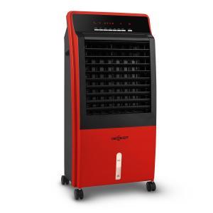 CTR-1 4-in-1 Luftkühler Ventilator Luftbefeuchter Luftreiniger 360 m³/h | 65 Watt | 8 Liter | 3 Geschwindigkeiten | Oszillation | Ionisator | Fernbedienung | mobil Rot