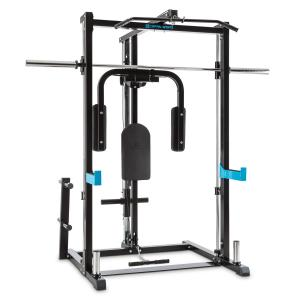 Inclusor Half Rack Butterfly Row Pull Cable Pull Barbell