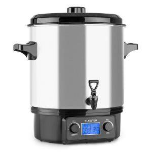 Biggie Digital Olla pasteurizadora 27l 2000W Acero inoxidable 27 L/digital/plata