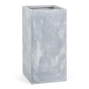 Solidflor Flower Pot Planter 40x80x40 cm Fiberton Light Grey Grey | 40 cm
