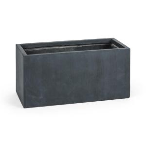 Solidflor Flower Pot Planter 79.5x38x38 cm Fiberton Anthracite Anthracite | 79,5 cm