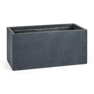Solidflor Flower Pot Planter 99x46x46 cmFiberton Anthracite Anthracite | 99 cm