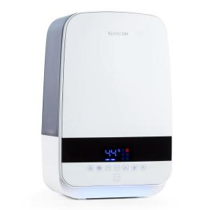 Nibelheim Humidificateur d'air à ultrasons Ioniseur 5,6l UV - blanc Blanc