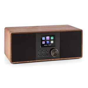 Connect 120 internerradio mediaspelare Bluetooth WLAN DAB/DAB+ FM USB Valnöt