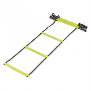 Klastride 4 Agility Ladder drabinka koordynacyjna 4 m torba kolor zielony 4 m