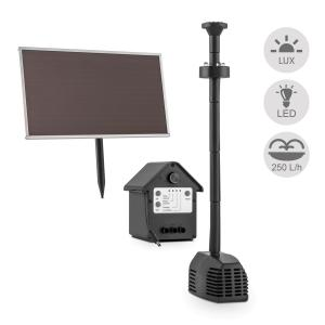 Waterworks 250 Water Pump Solar Fountain 250l / h LED Battery 250 Ltr/h