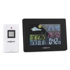 Uddevalla Draadloos Weerstation Werking op batterijen Alarm incl. Buitensensor