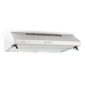 Purista Substructure Extractor Hood Metal Glass 60 cm 190 m³/h Wall Mounting