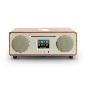 Two - 2.1 Internet-Radio CD 30W USB Bluetooth Spotify Connect DAB+ Walnuss Walnuss