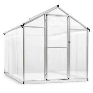 Greencastle 4K Greenhouse 190x195x242cm (WxHxD) Aluminium Polycarbonate 4K - 242 cm