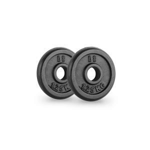IPB 1.25 obciążenia talerze para 30 mm 1,25 kg czarne 2x 1.25 kg