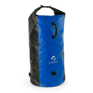 Quintono 100 Trekking Duffel Bag 100 Litres Waterproof Black / Blue Blue
