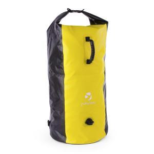 Quintono 100 Trekking Rucksack Duffel Bag 100 Litres Waterproof Black / Yellow Yellow