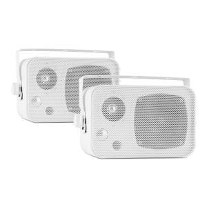 CB105 2-drożny pasywny głośnik maks. 20 W para biały z pałąkiem montażowym Biały