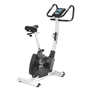 Durate Cardiobike Home Trainer Exercise Bike 4 kg Pulse Computer Silver Silver