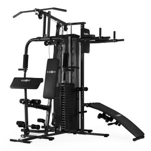 Ultimate Gym 5000 multifunctioneel Fitness-Station zwart