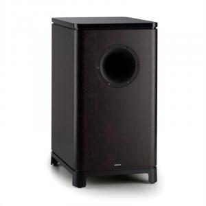 "UNiSUB active subwoofer 25 cm (10"") rosewood Brown"