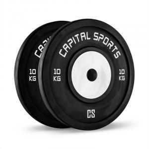 Inval Par de Placas de Pesos de Competição Tiro em Alumínio 2 x 10 kg