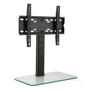 TV Stand Size M Height 60 cm Height-adjustable 23-47 Inches Glass Base 23-47 inch glass base