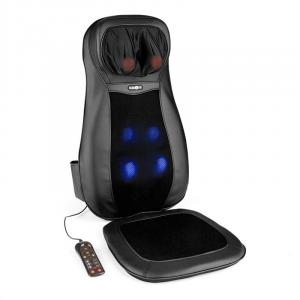 Nukuoro Massage Cushion Shiatsu Massage 3 Massage Zones Black Black