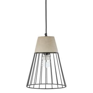 Sonnenstein Studie 78 Concrete Hanging Lamp Pendulum Lamp Concrete & Steel
