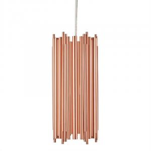 Kupferstrahl Studie 2 Hanging Lamp Pendulum Lamp Copper Industrial Design