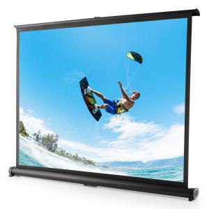 """T SVS 50 Ecran de projection portable 50"""" pour bureau 102x76 cm 4:3"""