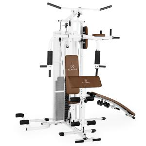 Ultimate Gym 5000 Multifunctional Fitness Station white White