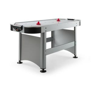 "Arctic Thunder Table d'air-hockey 7"" 80x90x190 cm (LxHxP) - argent Argent"