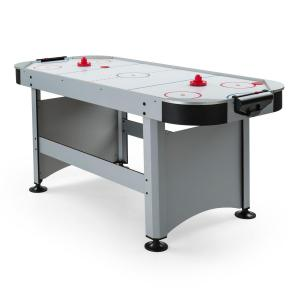 "Arctic Thunder Table d'air-hockey 7"" 80x90x190 cm (LxHxP) - argent silver"