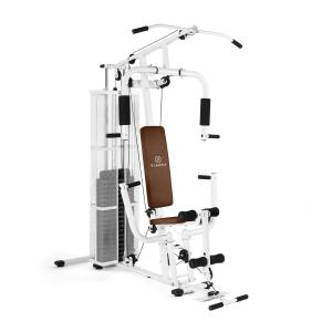 Ultimate Gym 3000 multifunktionell Fitness-Station vit Vit